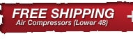 Free Freight on Most Air Compressors
