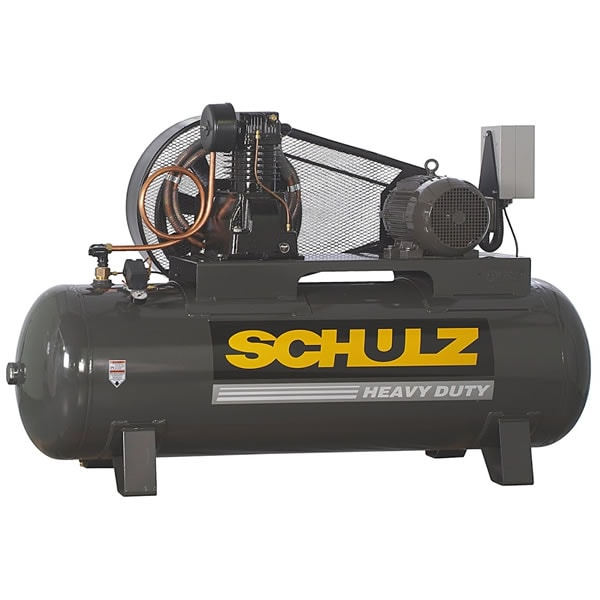 Schulz L-Series 10120HL40X-3 10-HP 120-Gallon Two-Stage Air Compressor (230V 3-Phase)