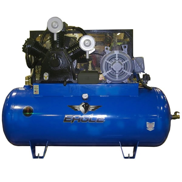 Eagle 15-HP 200-Gallon Two-Stage Air Compressor (230V 3-Phase)