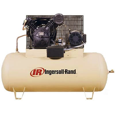 Ingersoll Rand 10-HP 120-Gallon Horizontal Two-Stage Air Compressor (230V 3-Phase)