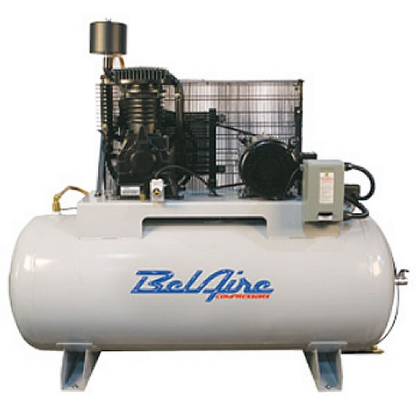 BelAire 7.5-HP 80-Gallon Two Stage Air Compressor (208-230V 1-Phase)