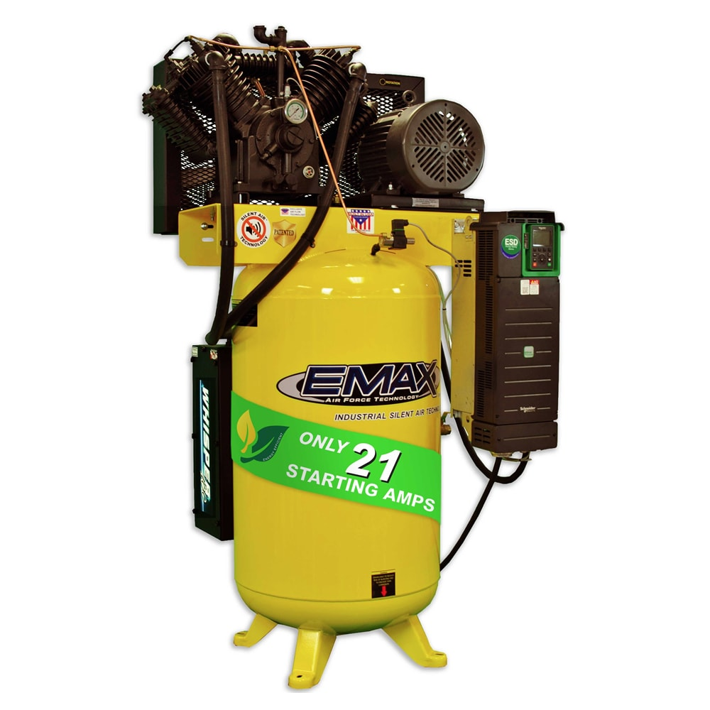 EMAX 2-Stage VFD Air Compressor