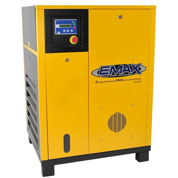 EMAX 5-HP Rotary Screw Air Compressor (230V 3-Phase)