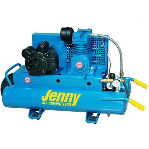 Jenny 1.5-HP 8-Gallon Wheelbarrow Air Compressor w/ Electric Motor