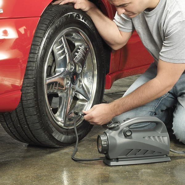 Keeping your tires at the proper pressure saves money
