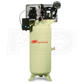 Ingersoll Rand 5-HP 60-Gallon Two-Stage Air Compressor (208V 3-Phase)