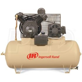 Ingersoll Rand 15-HP 120-Gallon Two-Stage Air Compressor (208V 3-Phase) Value Plus Package