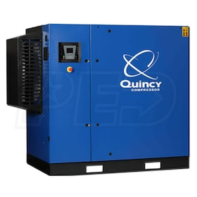 Quincy QGS 40-HP Rotary Screw Compressor (208/230 3-Phase)