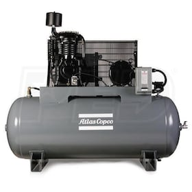 Atlas Copco AR5 5-HP 80-Gallon Two-Stage Air Compressor (460V 3-Phase)