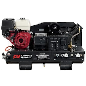 Campbell Hausfeld Commercial 11-HP 10-Gallon Two-Stage Truck Mount 2-In-1 Air Compressor / Generator w/ Honda Engine