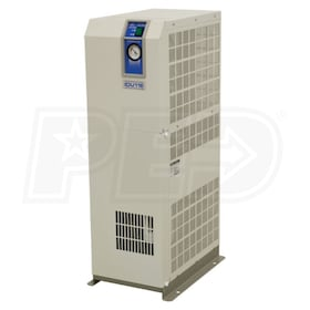 "SMC 1"" High Temperature Refrigerated Air Dryer / Aftercooler 20HP (68 CFM) 110V-1 Phase"