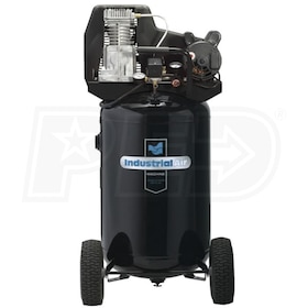 Industrial Air 1.9-HP 30-Gallon (Belt Drive) Dual Voltage Air Compressor