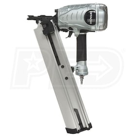 "Hitachi 3 1/2"" 21° Plastic Strip Collated Full Head Framing Nailer"