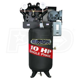 EMAX 10-HP 80-Gallon Two-Stage Air Compressor (208/230V 1-Phase)