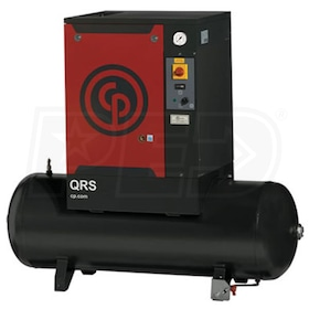 Chicago Pneumatic 15-HP 120-Gallon Rotary Screw Air Compressor (208/230/460V 3-Phase 125PSI)