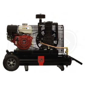 Chicago Pneumatic Contractor 5.5-HP 8-Gallon Gas Wheelbarrow Air Compressor w/ Honda Engine
