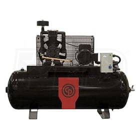 Chicago Pneumatic 7.5-HP 80-Gallon Two-Stage Compressor (208-230V 3-Phase) Premium Package