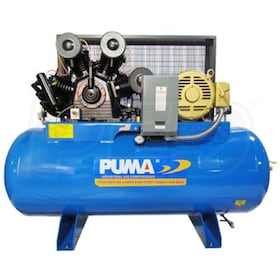 Puma 15-HP 120-Gallons Two-Stage Air Compressor (208-230V 3-Phase)