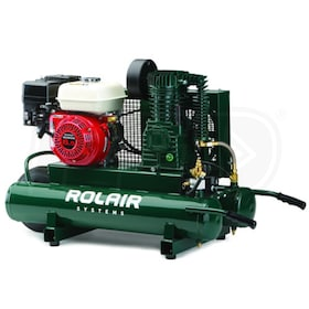 Rolair 6.5-HP 9-Gallon Gas Wheelbarrow Air Compressor w/ Honda Engine