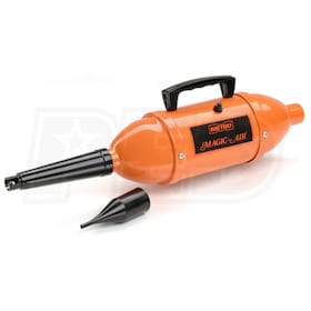 Magic Air 12-Volt High Volume Inflator / Deflator with Battery Clips