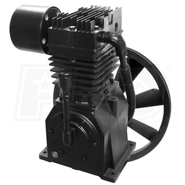 Industrial Air 7.5-HP 2-Stage Inline-Twin Replacement Air Compressor Pump (22.1 CFM @ 100 PSI)