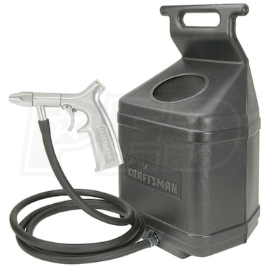 "Craftsman 50 Lb. Siphon Feed Sand Blaster Kit w/ 1/4"" Ceramic Nozzle"