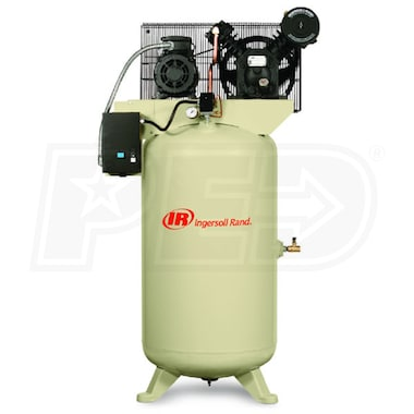 Ingersoll Rand 5-HP 80-Gallon Two-Stage Air Compressor (230V 3-Phase)