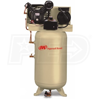 Ingersoll Rand 10-HP 120-Gallon Two-Stage Air Compressor (460-V 3-Phase) Value Plus Package