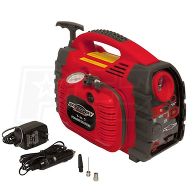 Speedway 7-in-1 Powerstation Emergency Inflator with Battery Starter & Flashlight
