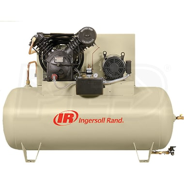 Ingersoll Rand 15-HP 120-Gallon Two-Stage Air Compressor (230V 3-Phase) Fully Packaged