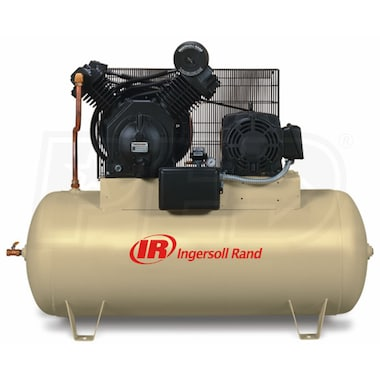 Ingersoll Rand 15-HP 120-Gallon Two Stage Air Compressor (208V 3-Phase) Air Compressor