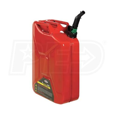 5 Gallon Metal Spill Proof Gas Can