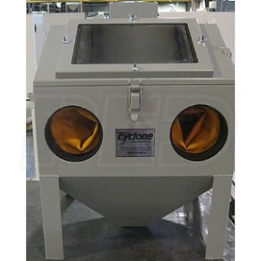 Cyclone Benchtop Sandblast Cabinet w/ Foot Pedal