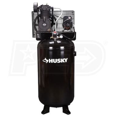 Husky 5-HP 80-Gallon Two-Stage Air Compressor (230V 1-Phase)