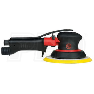 "Chicago Pneumatic 6"" Two-Handed Central Vacuum Orbital Air Sander"