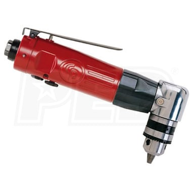 "Chicago Pneumatic 3/8"" Reversible Angle Air Drill"