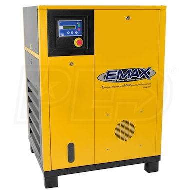 EMAX 5-HP Rotary Screw Air Compressor (460V 3-Phase)
