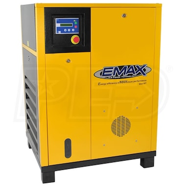 EMAX 15-HP Rotary Screw Air Compressor (460V 3-Phase)