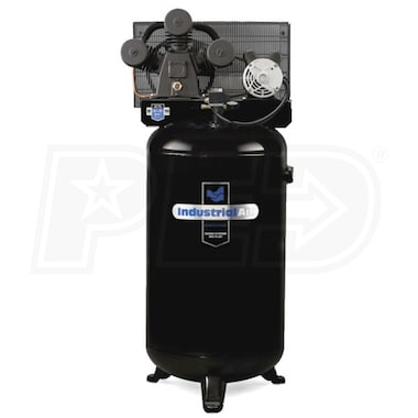 Industrial Air 4.7-HP 80-Gallon (Belt Drive) Hi-Flo Single Stage Air Compressor (230V 1-Phase) w/ No Control Panel