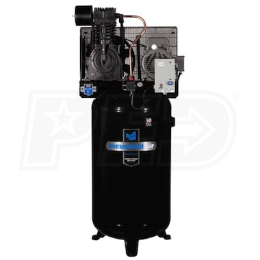 Industrial Air 7.5-HP 80-Gallon Two-Stage Air Compressor (230V 1-Phase) w/ Starter