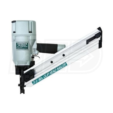 "Hitachi 3 1/4"" Paper Collated Clipped Head Framing Strip Nailer"