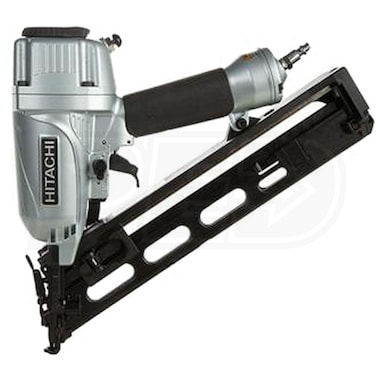 "Hitachi 2 1/2"" 15-Gauge 34° Finish Nailer w/ Integrated Air Duster"