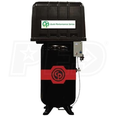 Chicago Pneumatic 5-HP 80-Gallon Two-Stage Air Compressor (208-230V 1-Phase) Fully Packaged