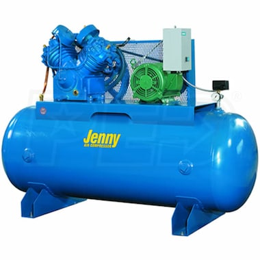 Jenny 7.5-HP 80-Gallon Two-Stage Air Compressor (230V 1-Phase)