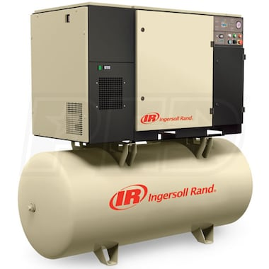 Ingersoll Rand 15-HP 80-Gallon Rotary Screw Air Compressor (208V 3-Phase 150PSI)