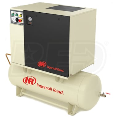 Ingersoll Rand 5-HP 80-Gallon Rotary Screw Total Air System (230V 1-Phase)(125PSI)