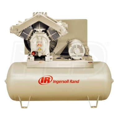 Ingersoll Rand 20-HP 120-Gallon Two-Stage Air Compressor (230V 3-Phase) Fully Packaged