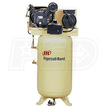 Ingersoll Rand 10-HP 120-Gallon Two-Stage Air Compressor (230V 3-Phase) Value Plus Package