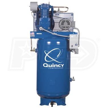 Quincy Max 7.5-HP 80-Gallon Two-Stage Air Compressor (230V 1-Phase)