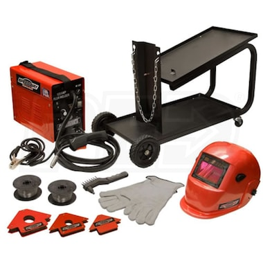 Speedway 125 Amp Wire Feed Gasless Welding Kit